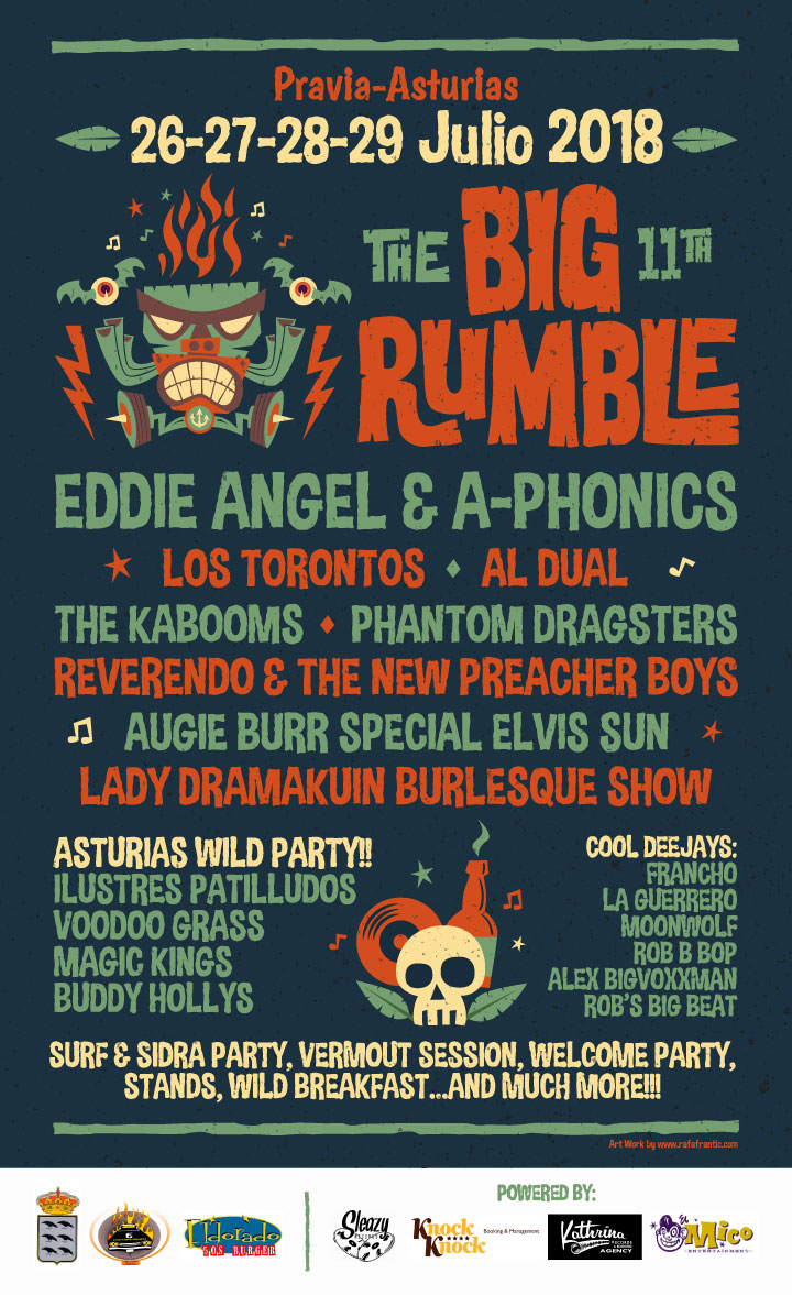 Poster The Big Rumble Fest Summer 2018